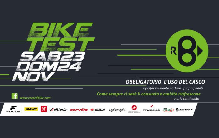 Open Day – Bike Test… 23-34 Novembre