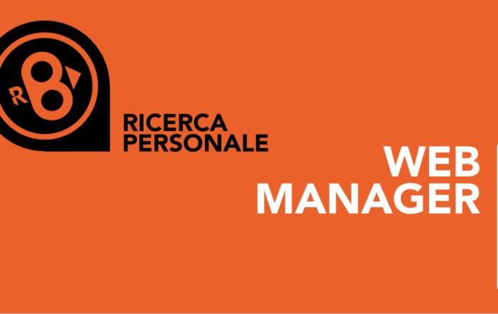 Offerta di lavoro – Web Manager